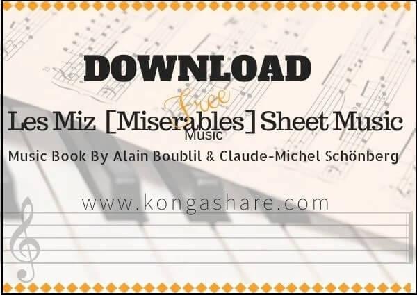Full Les Miz (Miserables Music Book) Piano sheet music in PDF