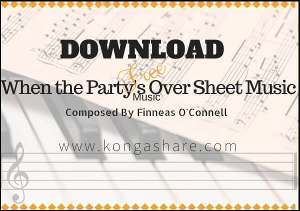 when the party's over piano sheet music pdf_kongashare.com_mo