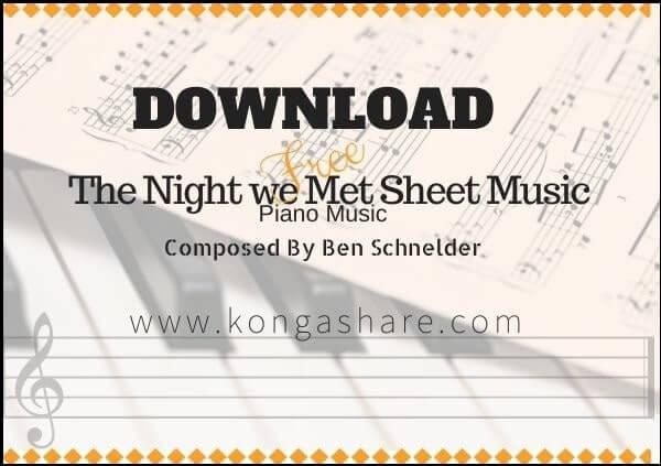 the night we met piano sheet music pdf midi_kongashare.com_mn