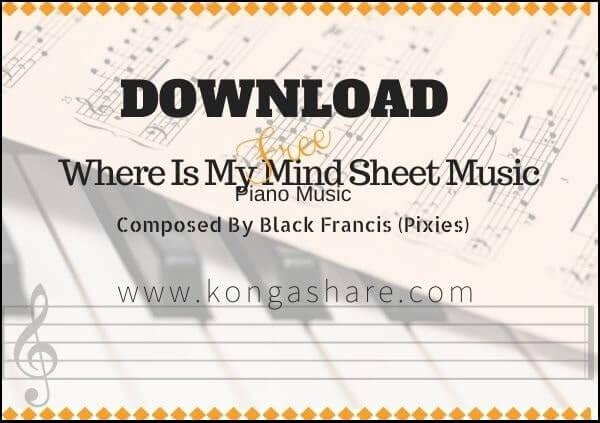 where is my mind piano sheet music pdf midi_kongashare.com_mn